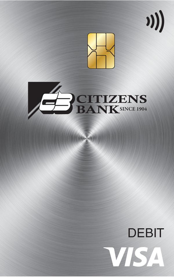 Citizens Bank Visa Debit Card